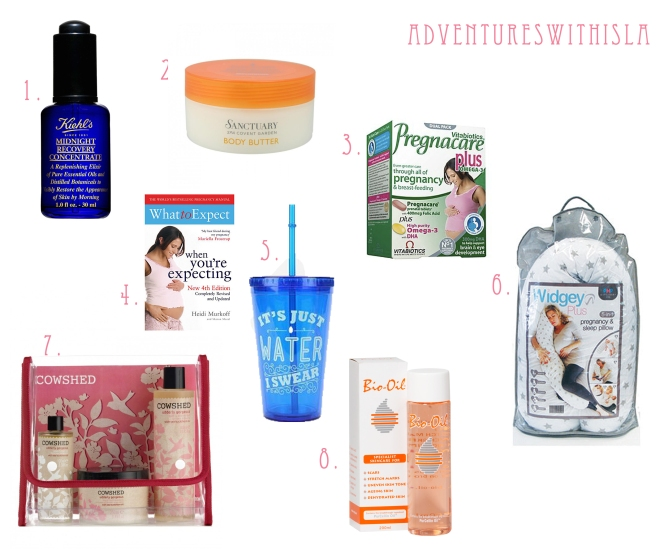 Adventures With Isla Blog  Pregnancy must haves
