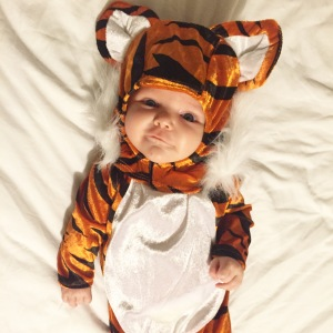 Halloween, Family Costume Ideas, Baby Halloween Costume, Cute, Tiger Costume - Adventures With Isla Baby and Lifestyle Blog
