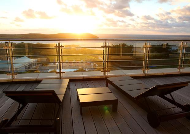 ST MORITZ - Apartment Balcony
